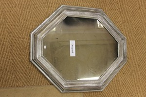 octagon bathroom mirror mirrors looking glass of bath 13837