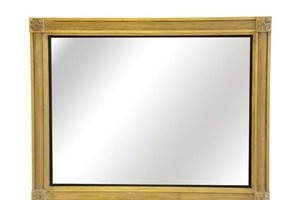 The Boxed Reed Mirror £700.00  A finely balanced mirror with domed reeded centre panel that measures 3 1/2' wide.   It echoes Georgian architectural mouldings and is particularly suited for more formal halls, drawing rooms etc. Can look impressive as an overmantel when hung in landscape format.  We would recommend the fitting of corner tablets but the mirror also looks equally good without them.  Example size is 34' x 46'