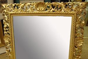 Florentine Antique Mirror £1,250.00                                                                                                                       122x90cms  [48'36']