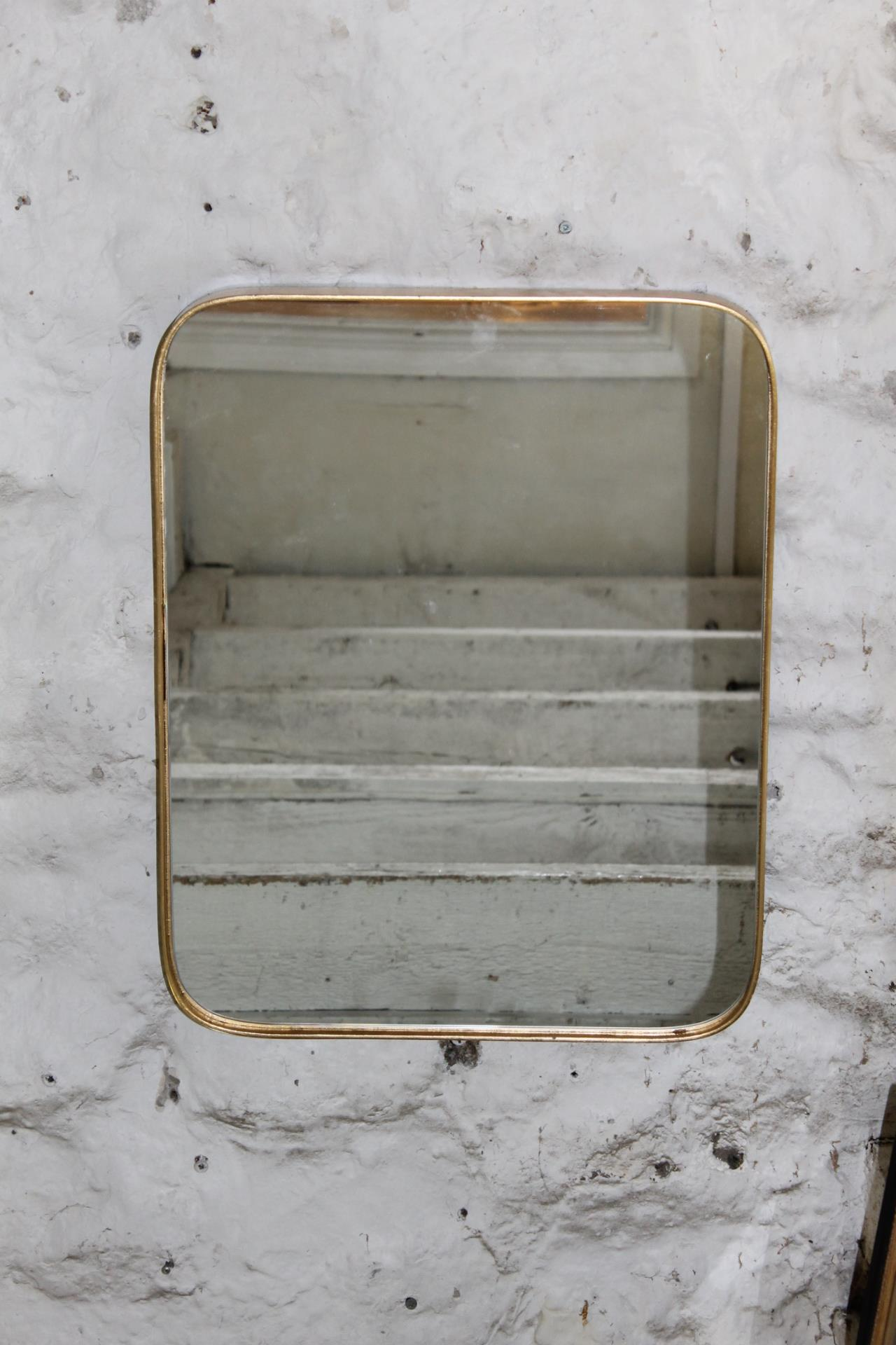 50cms x 40cms.imported 'gold framed mirror    £79.00  60cms x 50cms imported  'gold' framed mirror  £100.00