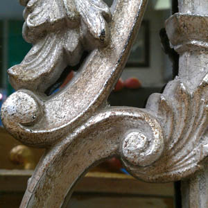 Silver Finish\r\n\r\nThis is an example of our silver finish on our Chippendale mirror.