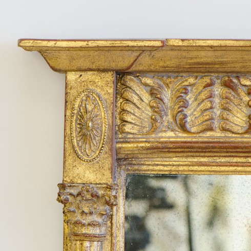 This is a detail of the Fern overmantel
