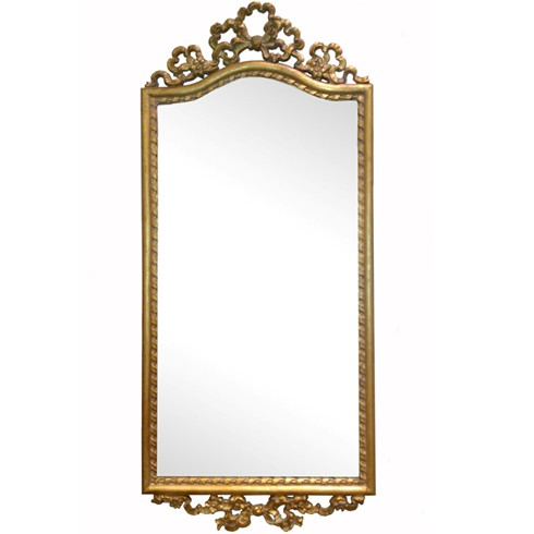 Double Bow Pier<BR>£230.00<BR><BR>This beautiful mirror would enhance any drawing room, dressing room or hallway.<BR><BR>Can be finished in either gold or silver or a paint finish of your choosing.