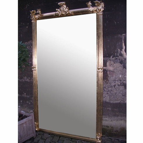 Large Flame Mirror. <br/><br/>£2,600.00<br/><br/>This mirror design is taken directly from an 18th century original in our possession. <br/><br/>Example size: 84' x 56' (213 x 140cm) <br/><br/>Any size can be made to order