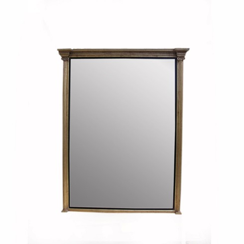 The Large Ionic Mirror<BR>£1,900.00 <BR><BR>The Ionic is a very elegant mirror which can be placed on a mantel or hung as a hall mirror. When made up in a large size it looks particularly impressive.<BR><BR> <BR><BR>Example size 6ft x 4ft   <BR><BR>Any size can be made to order