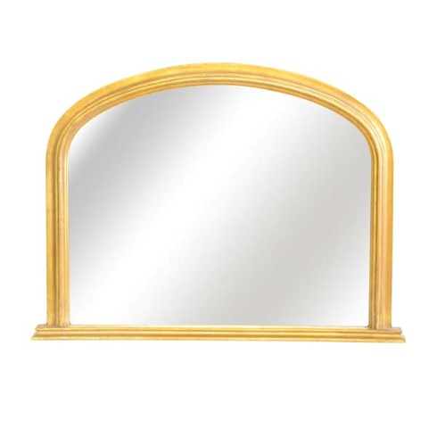 Rutland Overmantel Mirror<br/><br/>£380<br/><br/>This mirror is ideally suited for the smaller fireplace or over a piece of furniture. <br/><br/>See finishes page for alternative frame finishes. <br/><br/>One size available: 41'x 30' (103 x 78cm) <br/><br/>Base width an extra 6'
