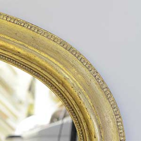 Light Antique<br /><br />This is an example of a light antique gold finish on our Somerset Overmantel mirror.