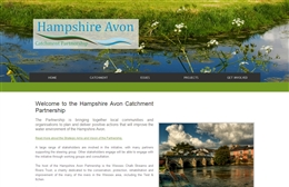Hampshire Avon Catchment Partnership website design case study