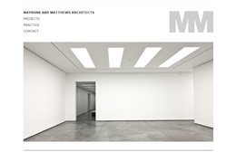 Maybank & Matthews - Architects website design by Toolkit Websites, Southampton