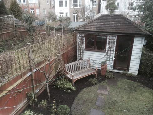 Maintenance a h garden services north london decking for Garden decking north london