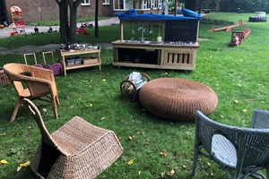 Mud Kitchen/ outdoor home corner