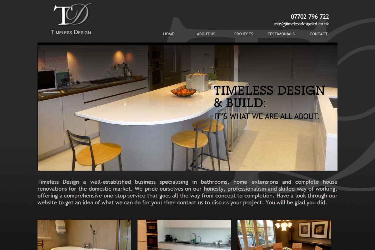 Contact Timeless Design And Build Ltd