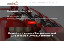 Classic Fire, Southampton website design case study