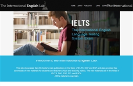 International English Lab - English Language School website design by Toolkit Websites, Southampton