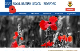 The Royal British Legion - Charity web design by Toolkit Websites, Southampton