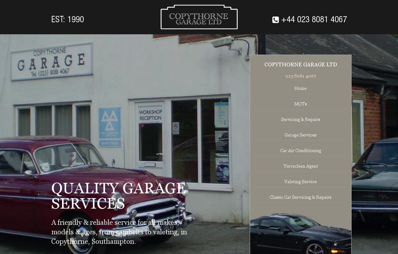 Garage Services Copythorne