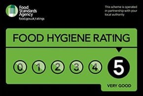 Very Good 5 Hygiene Rating