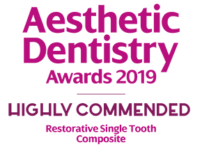ADA Award Highly Commended - Restorative Single Tooth Composite
