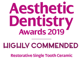 ADA Award Highly Commended - Restorative Single Tooth Ceramic