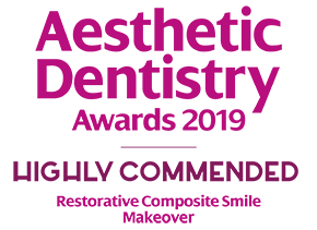 ADA Award Highly Commended - Restorative Composite Smile Makeover