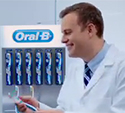 Richard Lee Oral-B Advert