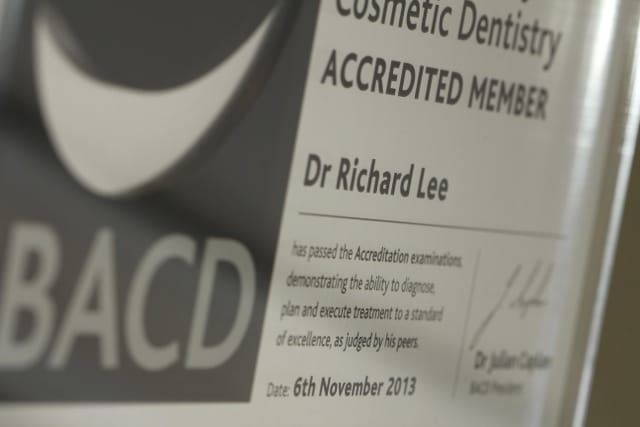 BACD Accredited Member Certificate
