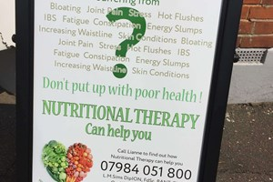 Foodroute Nutrition sign