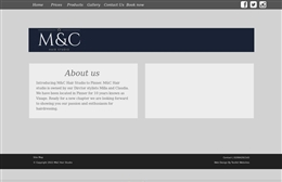 Visage Pinner - Hair & Beauty website design by Toolkit Websites, Southampton