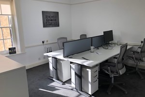shared desk space Gatcombe house