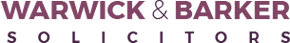 Warwick & Barker Solicitors Logo