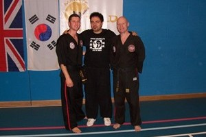 Mr. Craig Fisher, Sifu Chris Crudelli, Mr. Roy Fisher