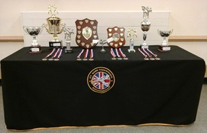 These are the students trophies for 2014.