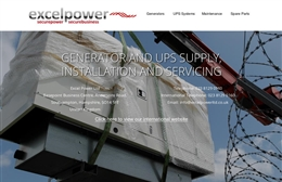 Excel Power website design case study