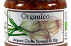 Organic Aegean Garlic Spread and Dip