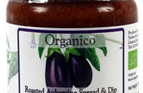 organic Aubergine spread and dip