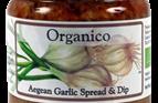 organic garlic dip