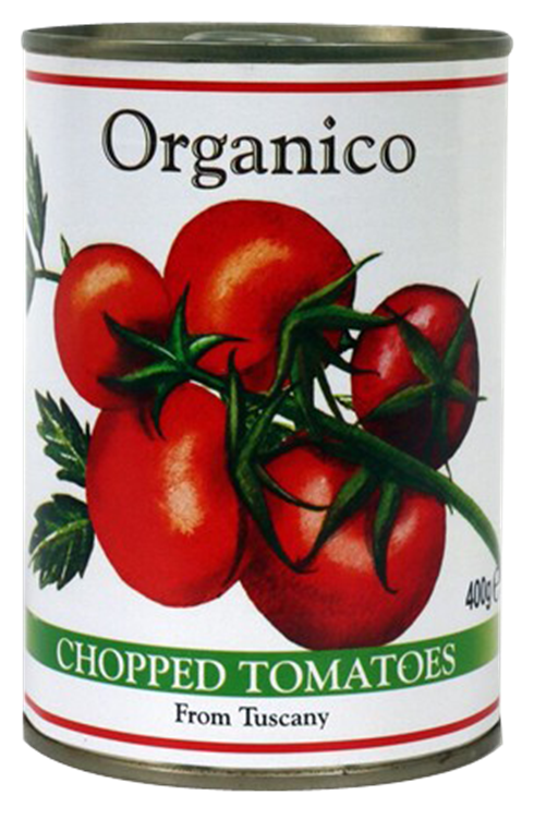 Organico Chopped Tomatoes