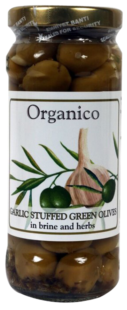 Organic Garlic stuffed Olives