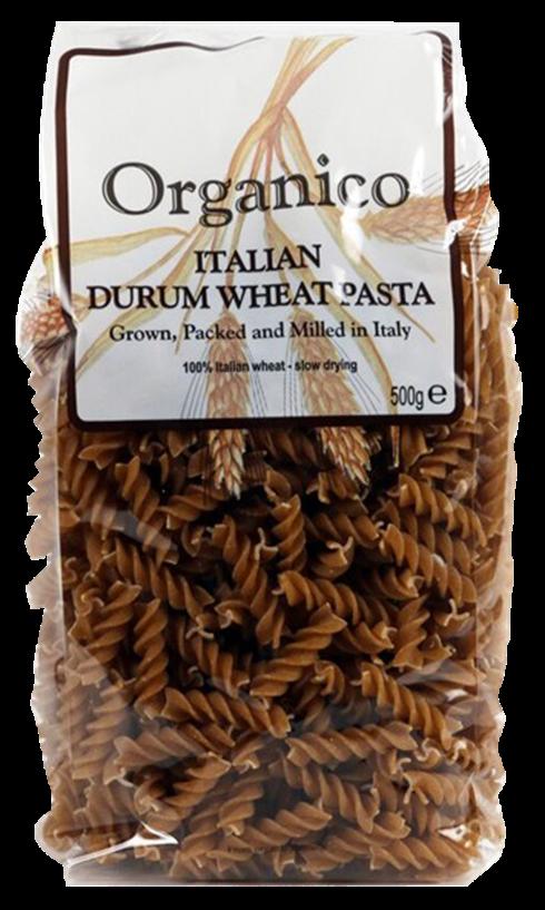organic Durum wheat pasta