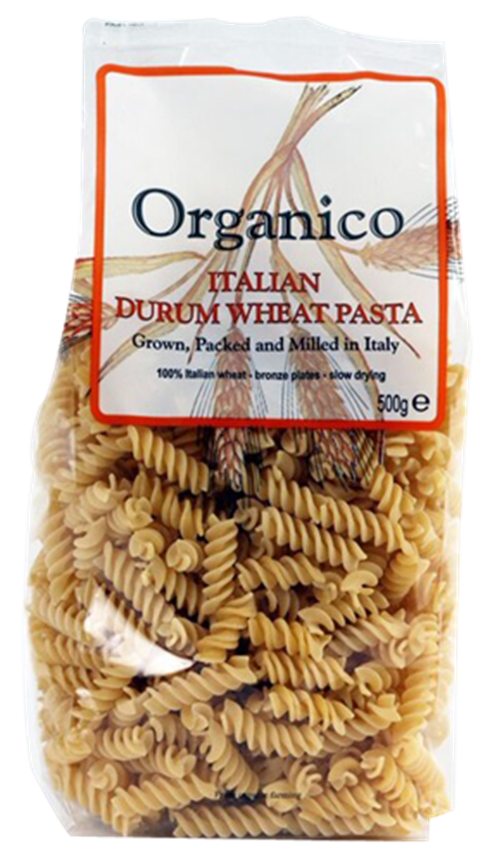 organic Durum wheat pasta