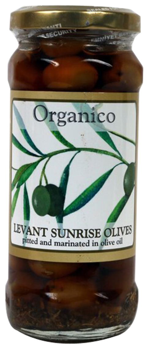 Organic Levant Sunrise Olives