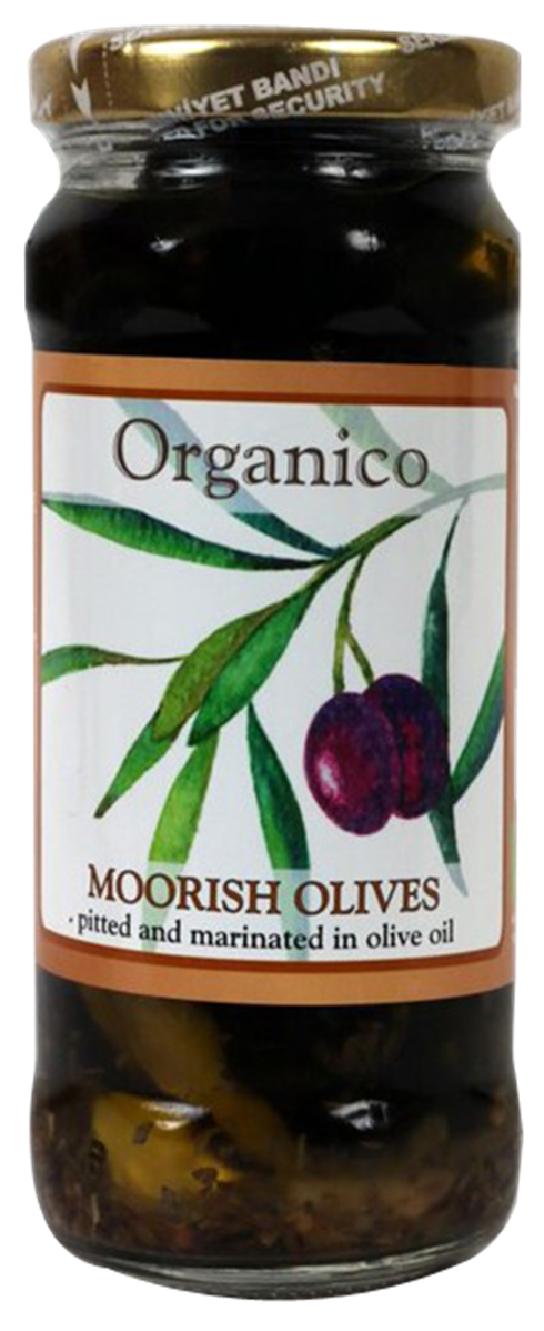 organic Moorish olives