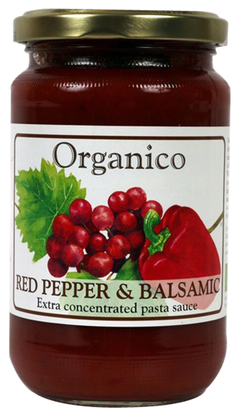 Organic Red Pepper and Balsamic sauce