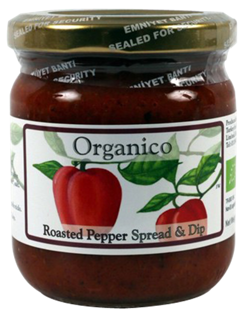 organic roasted red pepper spread