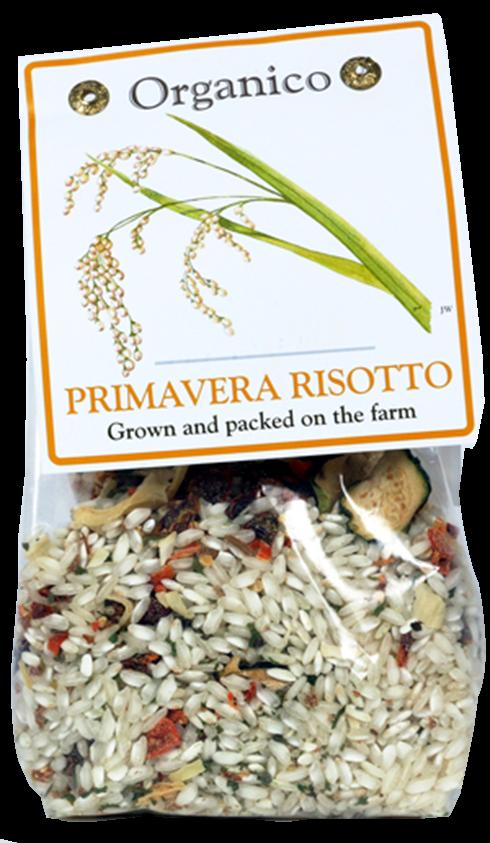 organic primavera risotto