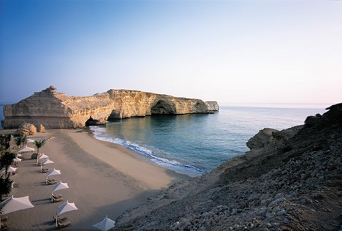 Private Beach at Al Husn