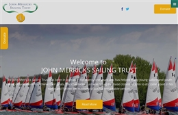 John Merricks Sailing Trust  - Charity web design by Toolkit Websites, professional web designers