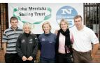 20041029                            Photo by onEdition Nick Dempsey, Sarah Ayton, Shirley Robertson, Sarah Webb with Iain Percy, all Sailing Olympic Medalists at the John Merricks Sailing Trust/North Sails Golf Day. This image is copyright the photographer 2004©.