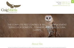 Craig Morris Countryside Services website design case study