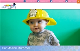 Smarty Pants day Nursery - Nursery web design by Toolkit Websites